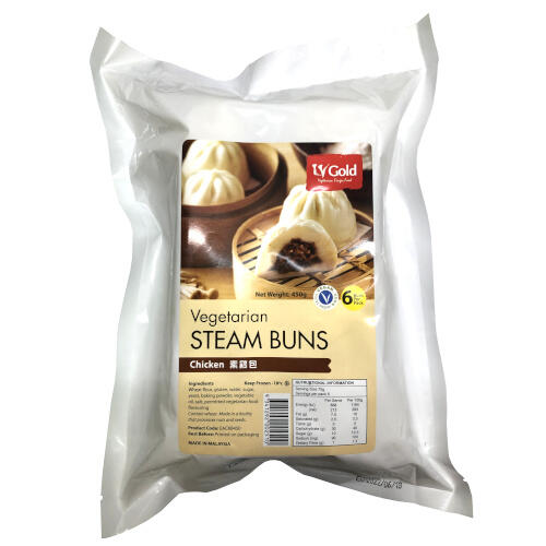LV Gold Chicken Steam Buns 450g