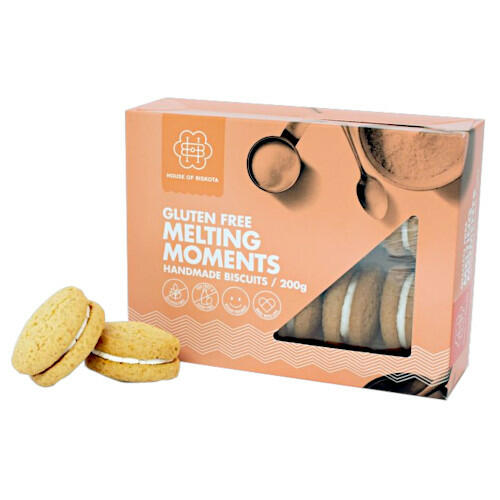 House of Biskota Melting Moments GF 200g