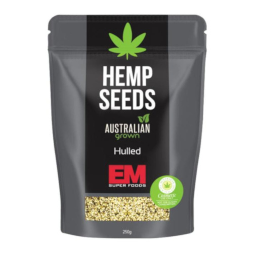 EM Superfoods Hemp Seeds Hulled 250g