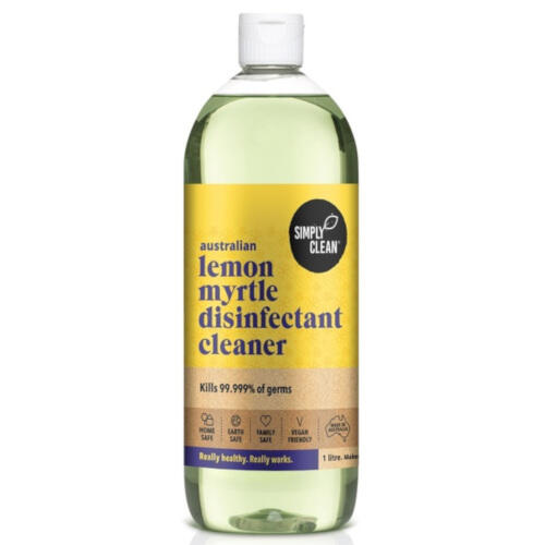 Simply Clean Lemon Myrtle Disinfectant Cleaner 1 litre