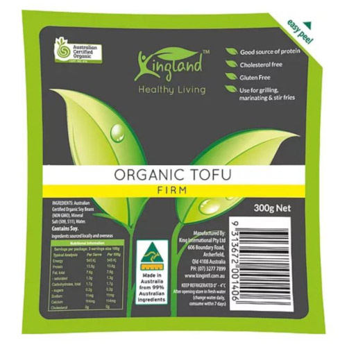 Kingland Tofu Firm 300g