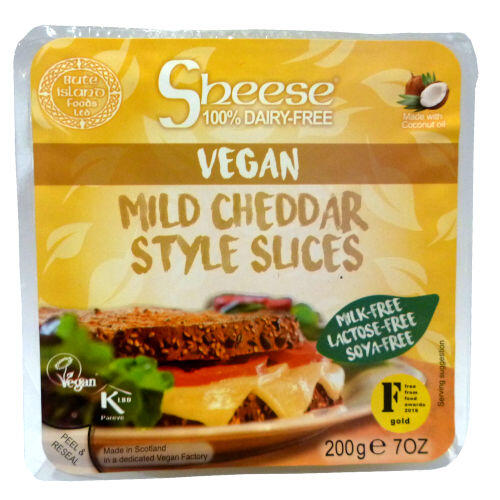 Sheese Mild Cheddar Slices 200g