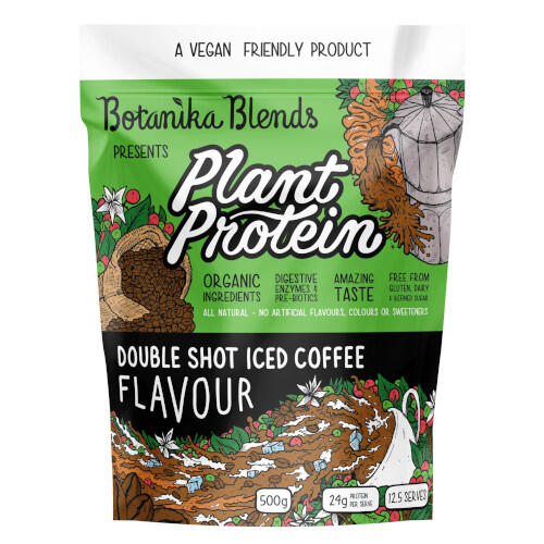 Botanika Blends Plant Protein Iced Coffee 500g