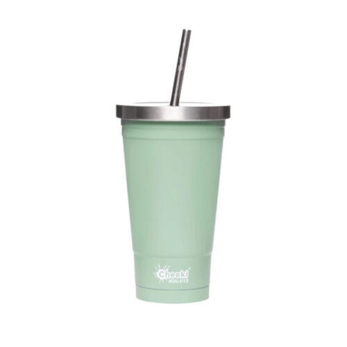 Cheeki Stainless Steel Tumbler 500ml Pistachio