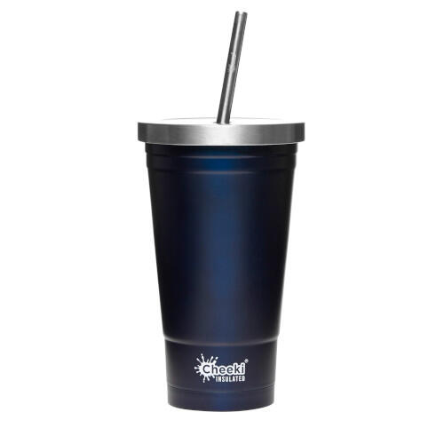Cheeki Stainless Steel Tumbler 500ml Ocean Blue